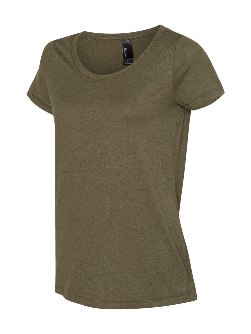 Hanes-Women-039-s-Modal-Triblend-T-Shirt-MO150 thumbnail 15