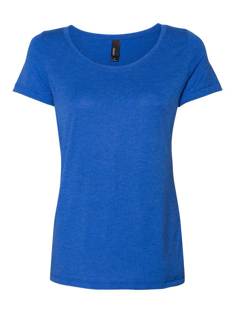 Hanes-Women-039-s-Modal-Triblend-T-Shirt-MO150 thumbnail 20