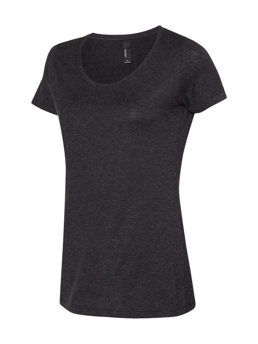 Hanes-Women-039-s-Modal-Triblend-T-Shirt-MO150 thumbnail 2