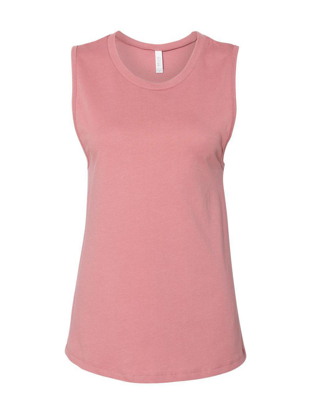 Bella-Canvas-Women-039-s-Jersey-Muscle-Tank-6003 thumbnail 15