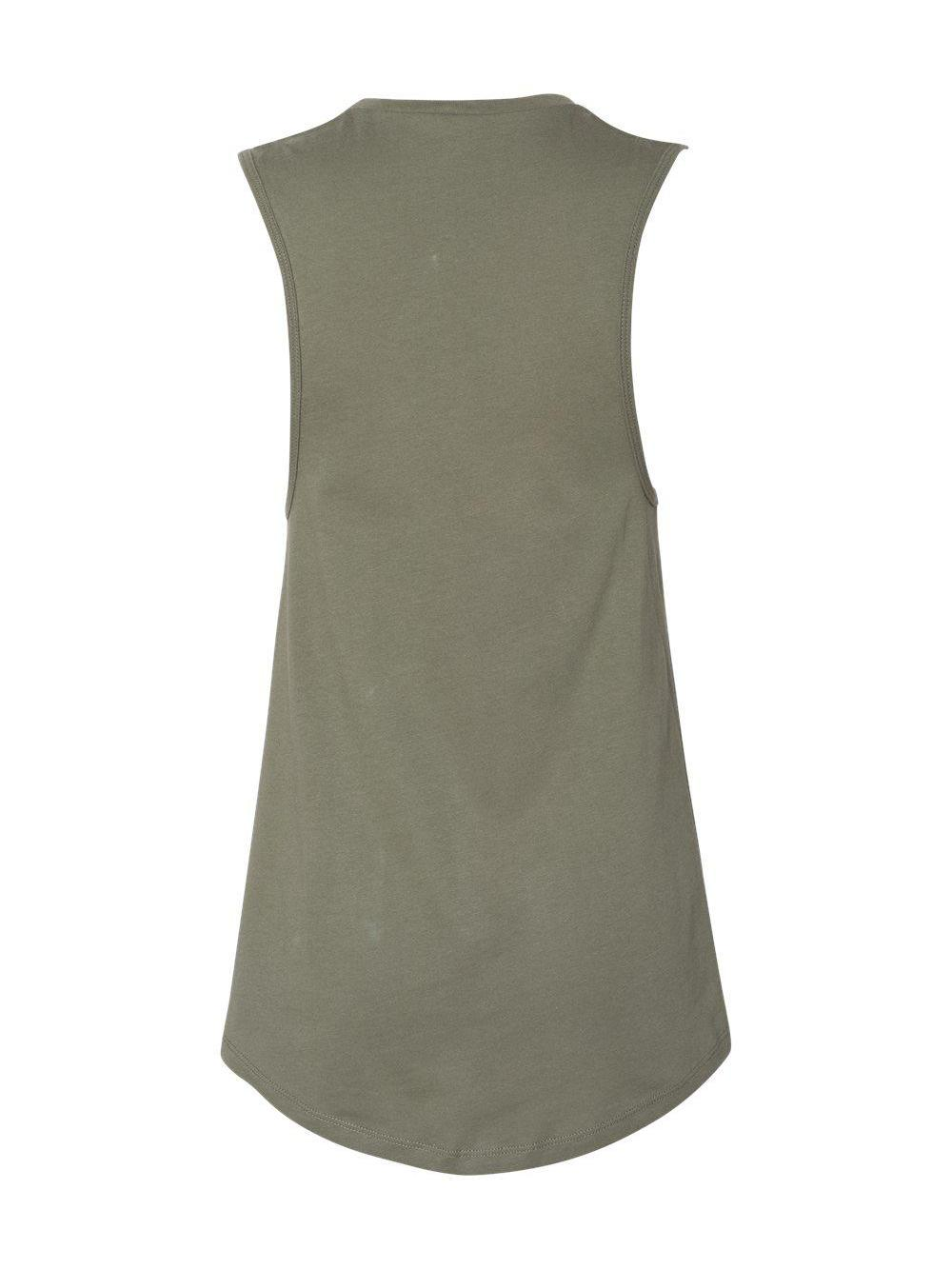 Bella-Canvas-Women-039-s-Jersey-Muscle-Tank-6003 thumbnail 19