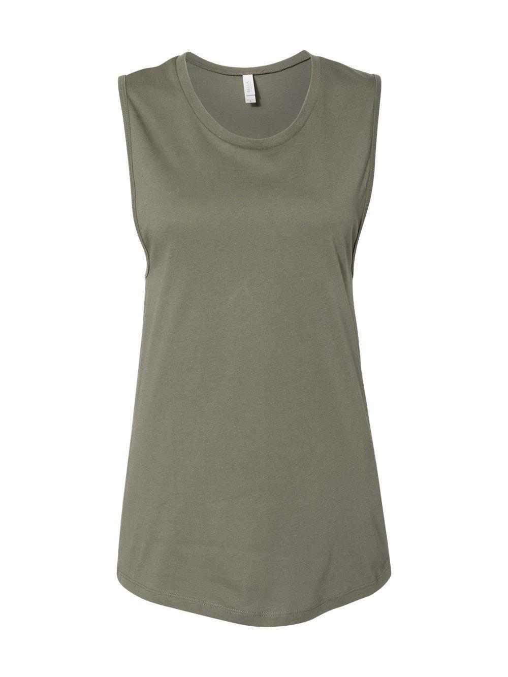 Bella-Canvas-Women-039-s-Jersey-Muscle-Tank-6003 thumbnail 18