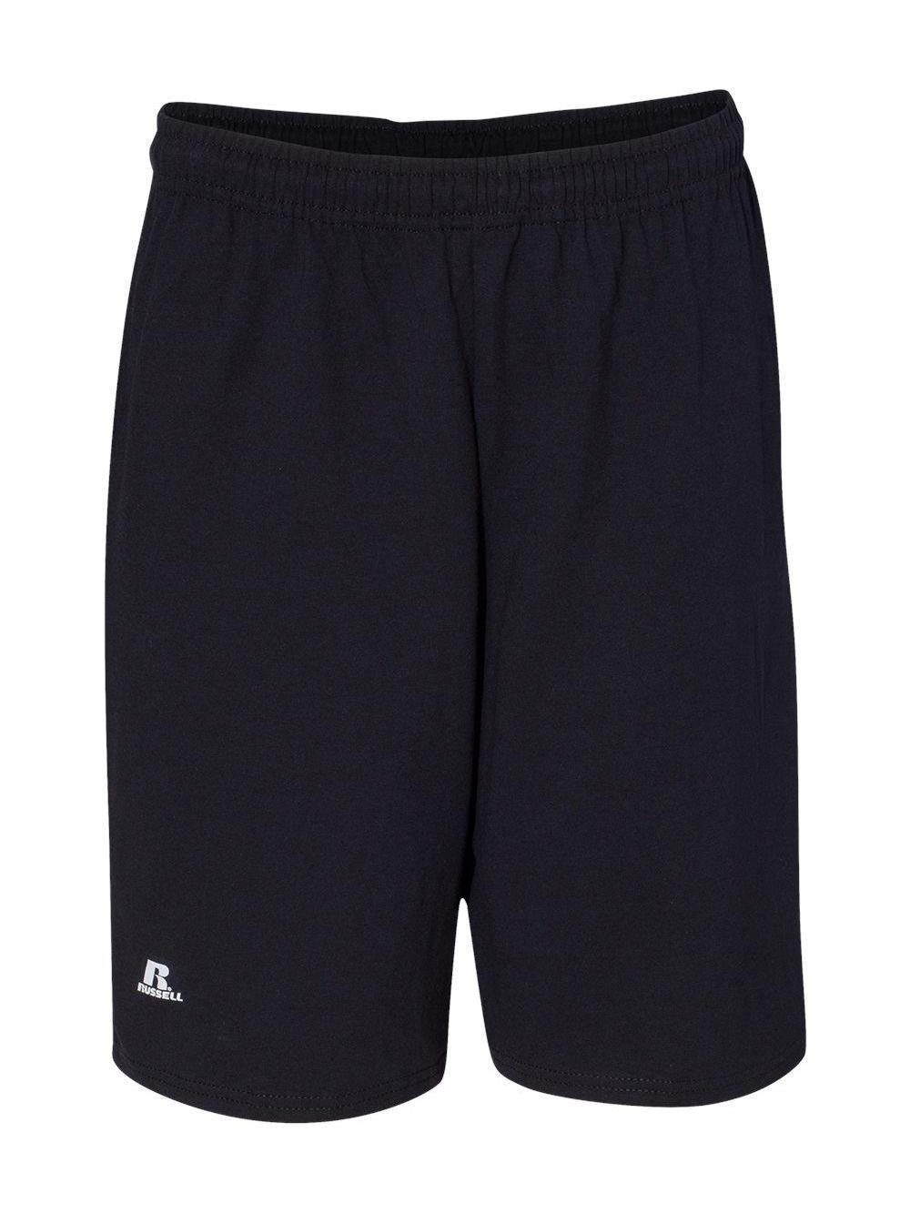 Russell-Athletic-Essential-Jersey-Cotton-Shorts-with-Pockets-25843M thumbnail 5