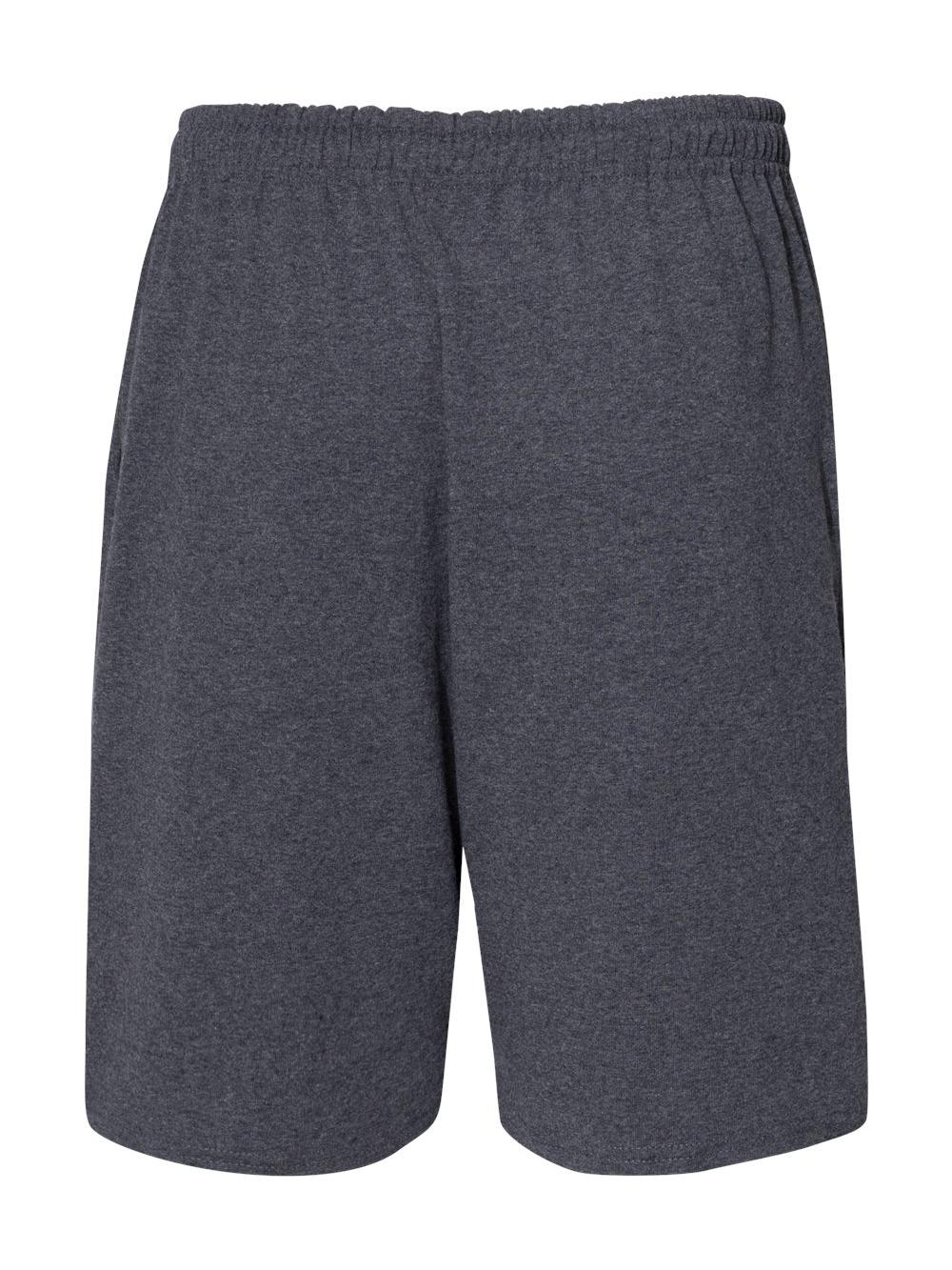 Russell-Athletic-Essential-Jersey-Cotton-Shorts-with-Pockets-25843M thumbnail 9