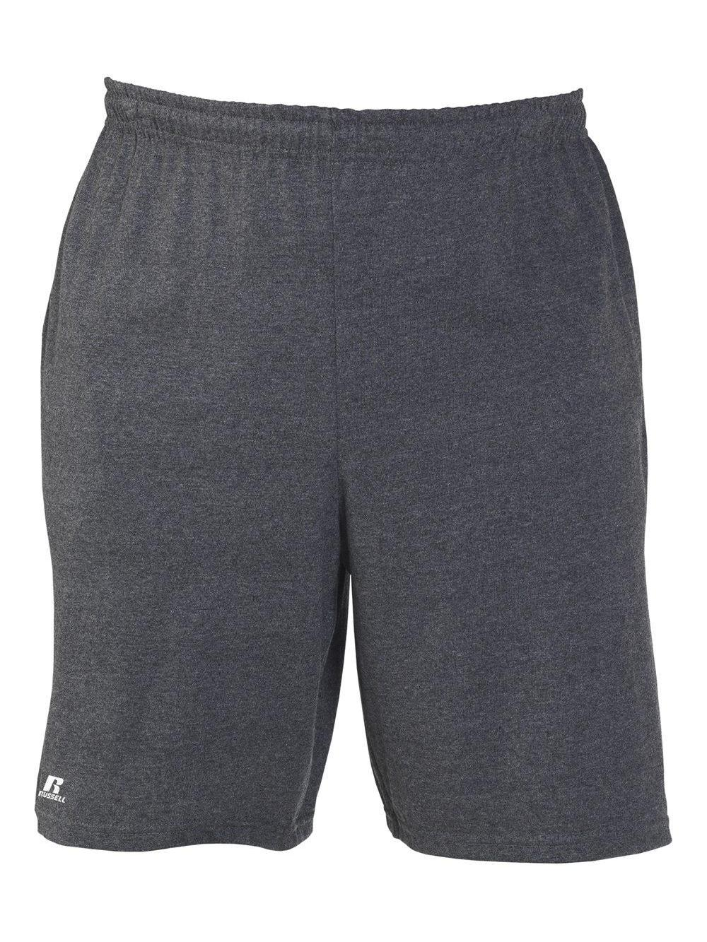 Russell-Athletic-Essential-Jersey-Cotton-Shorts-with-Pockets-25843M thumbnail 8