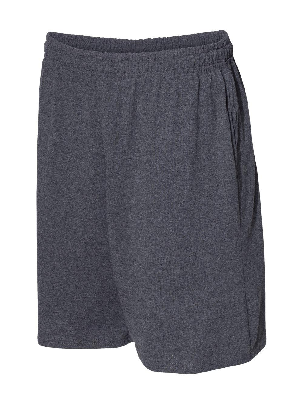 Russell-Athletic-Essential-Jersey-Cotton-Shorts-with-Pockets-25843M thumbnail 7