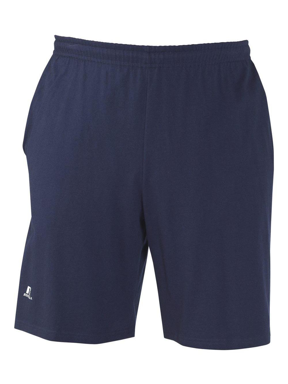 Russell-Athletic-Essential-Jersey-Cotton-Shorts-with-Pockets-25843M thumbnail 11