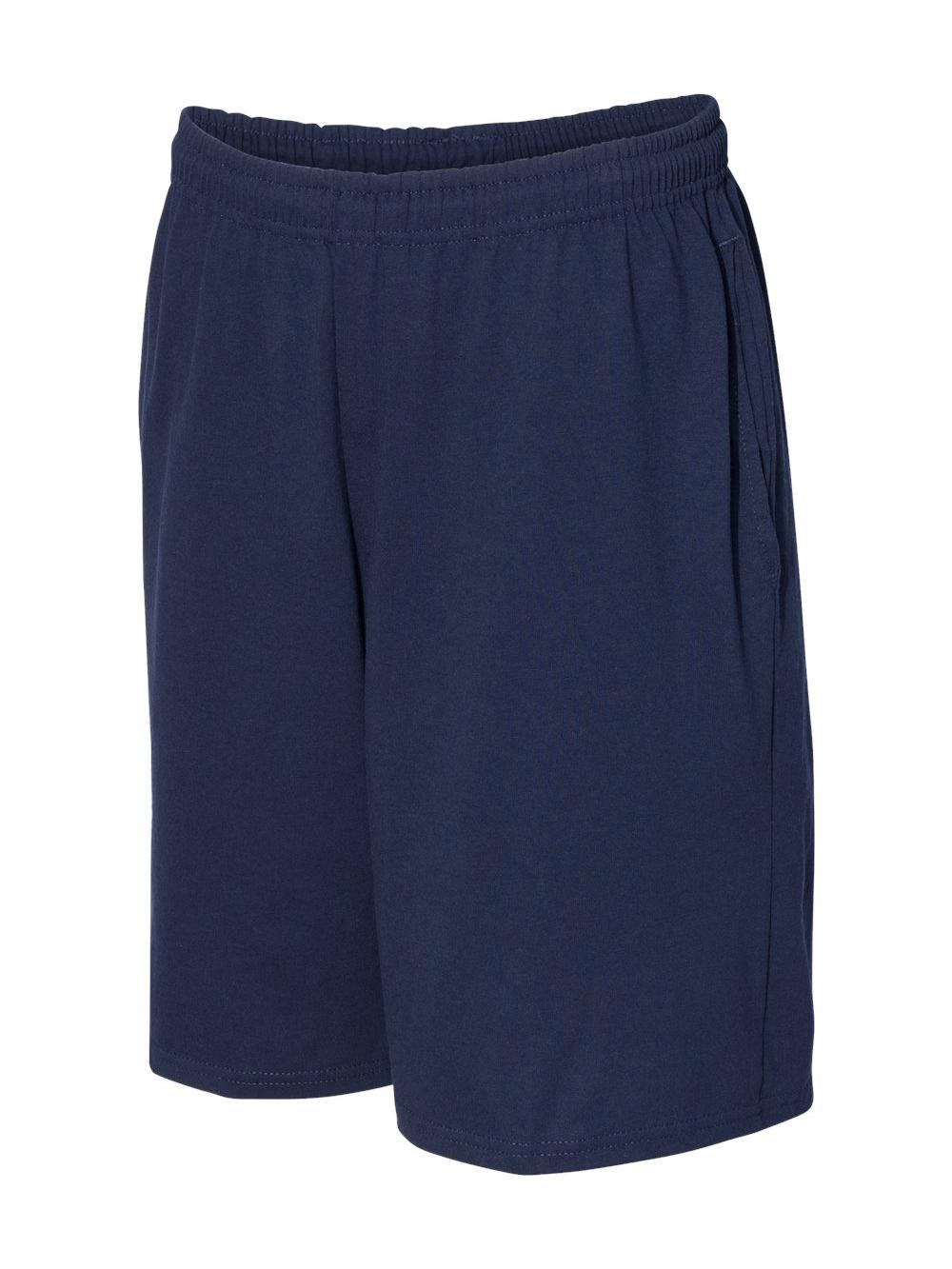 Russell-Athletic-Essential-Jersey-Cotton-Shorts-with-Pockets-25843M thumbnail 10