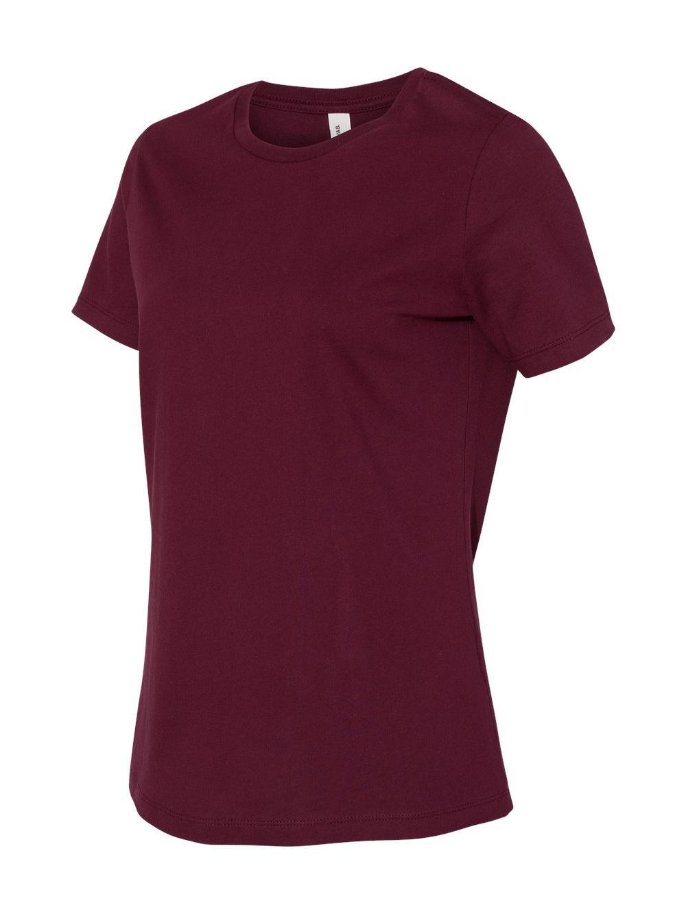 Bella-Canvas-Women-039-s-Relaxed-Short-Sleeve-Jersey-Tee-6400 thumbnail 47
