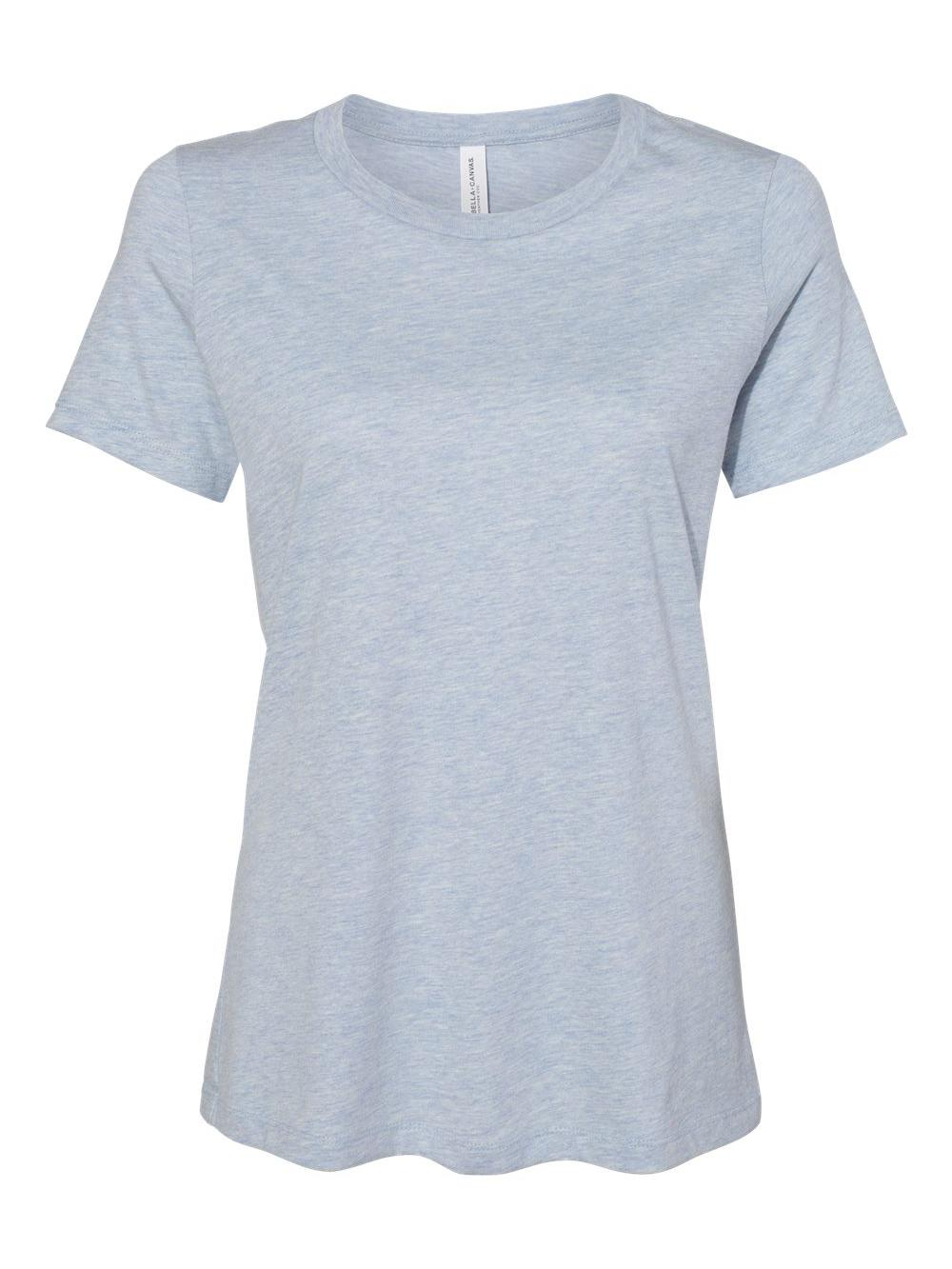 Bella-Canvas-Women-039-s-Relaxed-Short-Sleeve-Jersey-Tee-6400 thumbnail 42