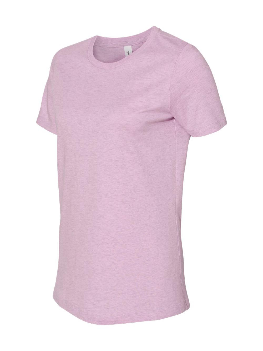 Bella-Canvas-Women-039-s-Relaxed-Short-Sleeve-Jersey-Tee-6400 thumbnail 44
