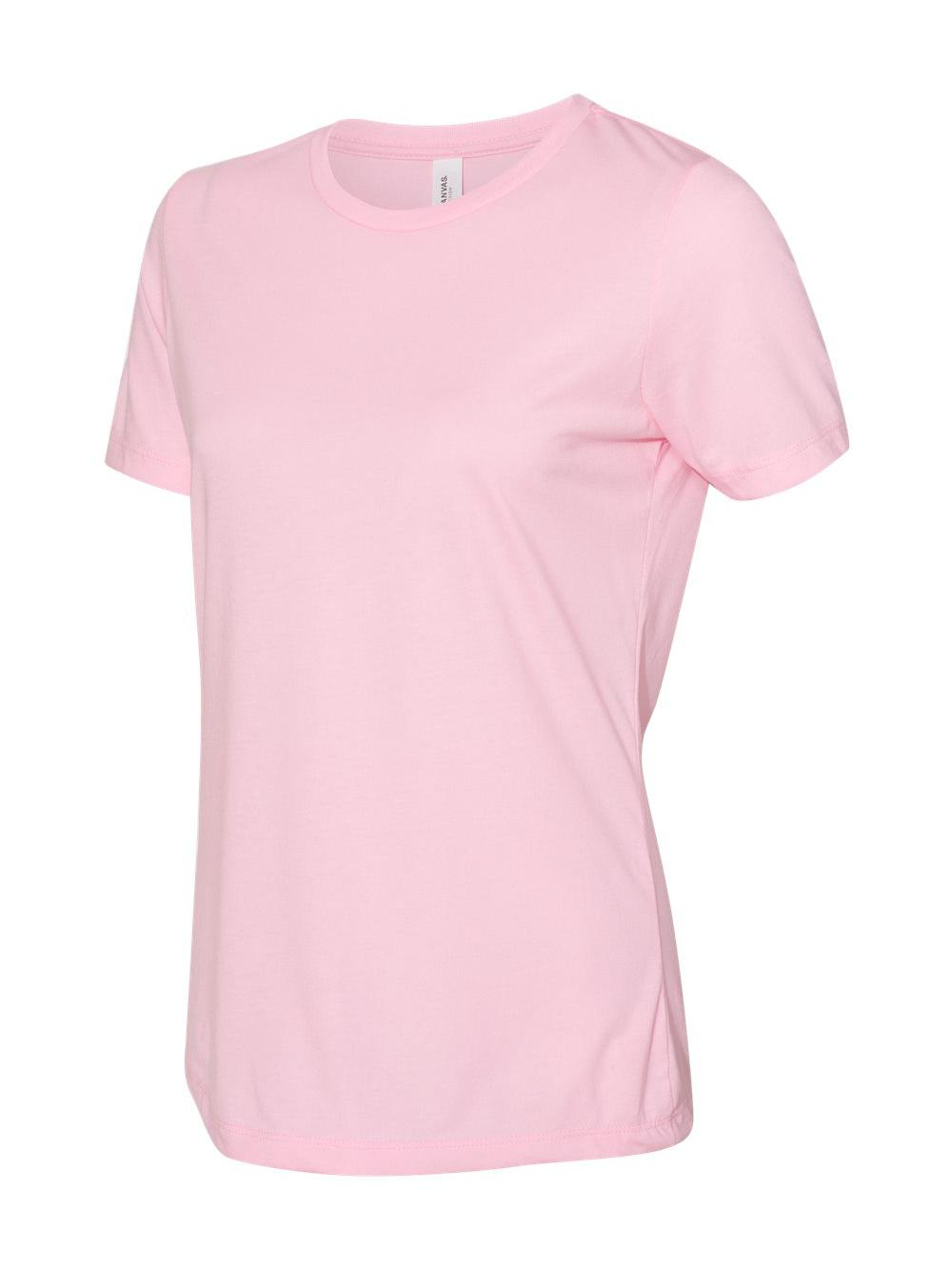 Bella-Canvas-Women-039-s-Relaxed-Short-Sleeve-Jersey-Tee-6400 thumbnail 68