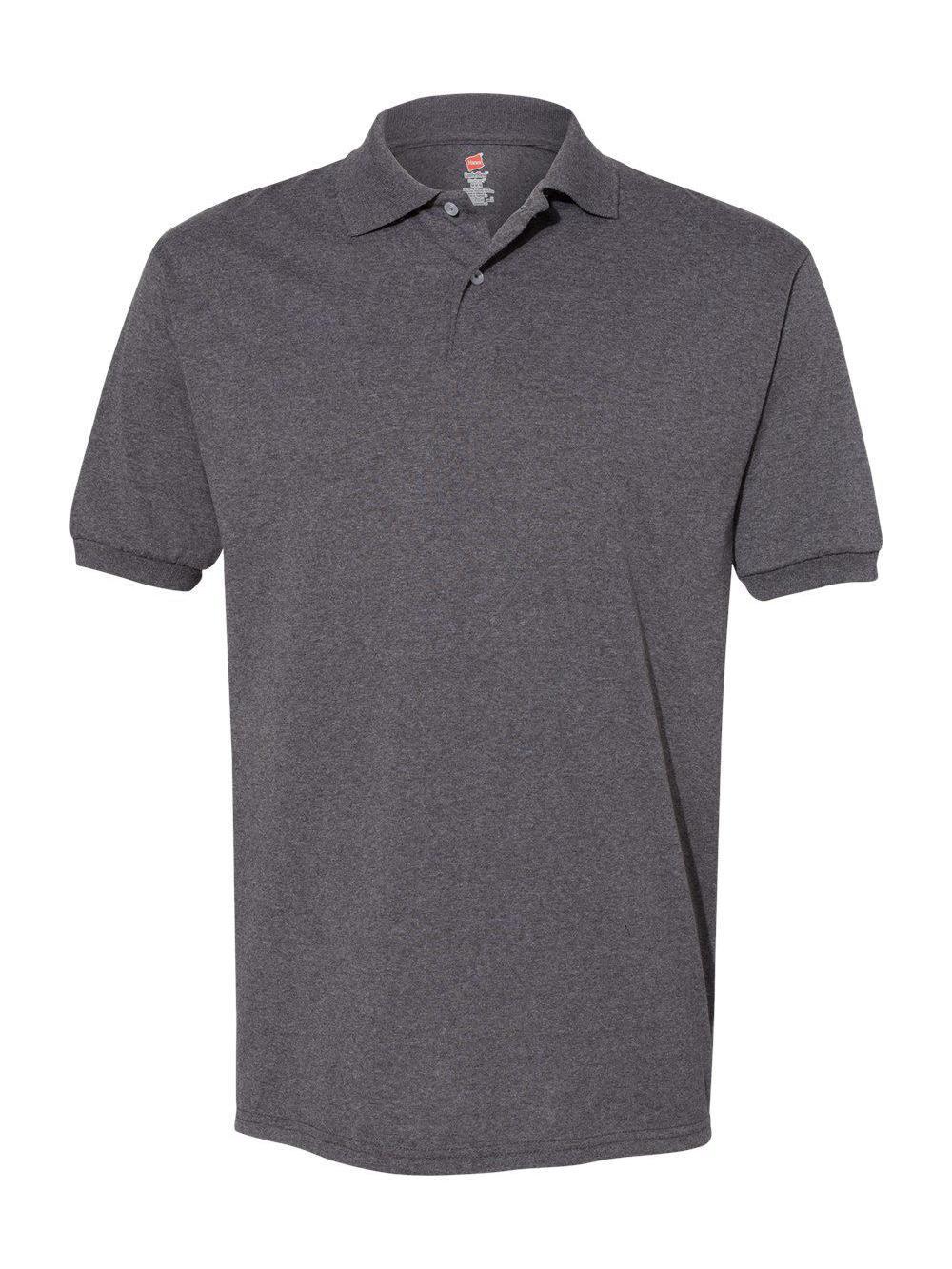 Hanes-Ecosmart-Jersey-Sport-Shirt-054X thumbnail 9
