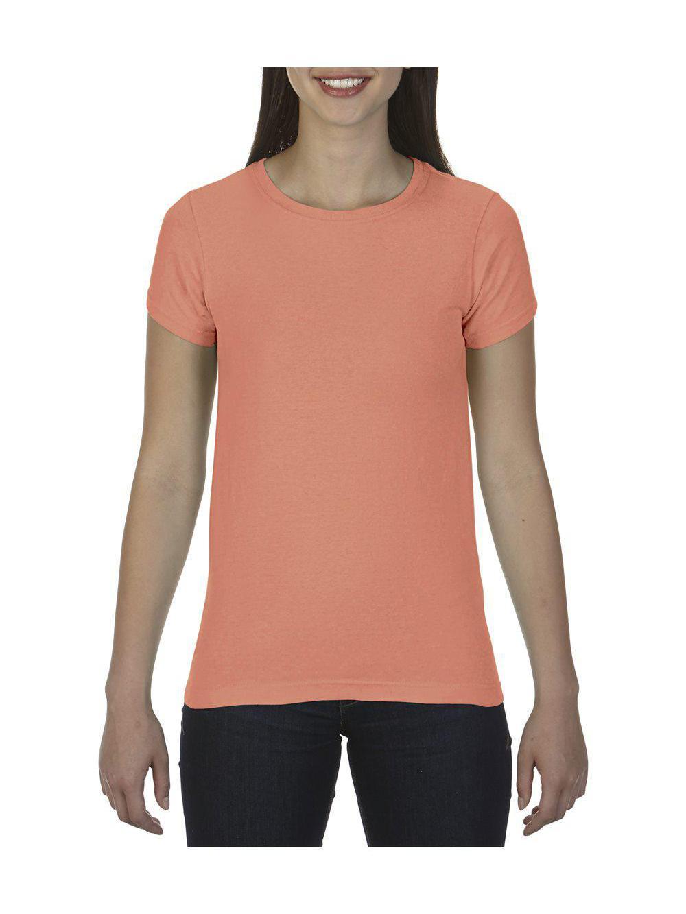 Comfort-Colors-Pigment-Dyed-Ringspun-Women-039-s-Short-Sleeve-T-Shirt-3333 thumbnail 27