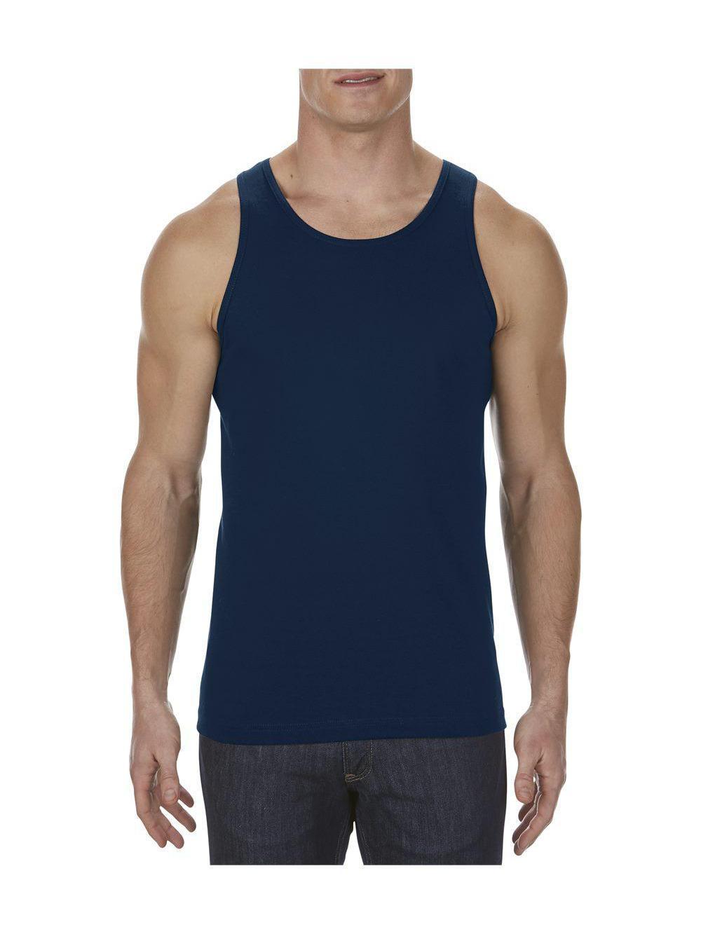 AAA 1307 ALSTYLE APPAREL MENS TANK TOP PLAIN SLEEVELESS T SHIRT MUSCLE SHIRTS
