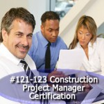 Construction Project Manager Certification