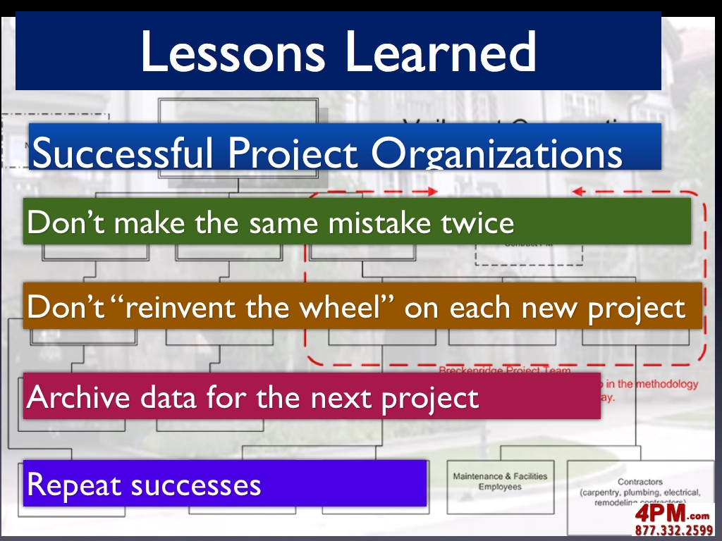 Project lessons learned for Lessons learnt project management template