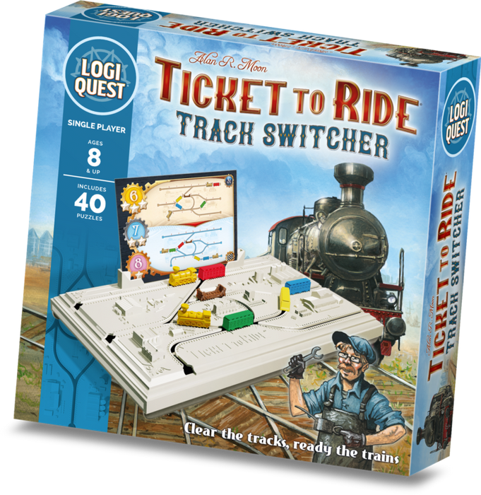 Ticket To Ride Track Switcher Game Box