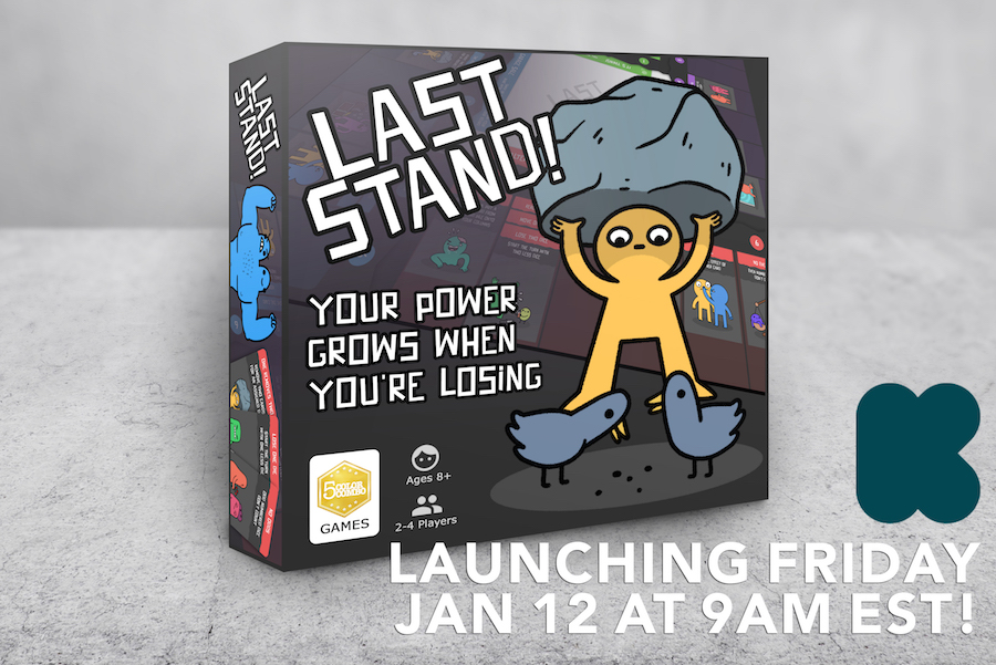 Last Stand Launch Announcement