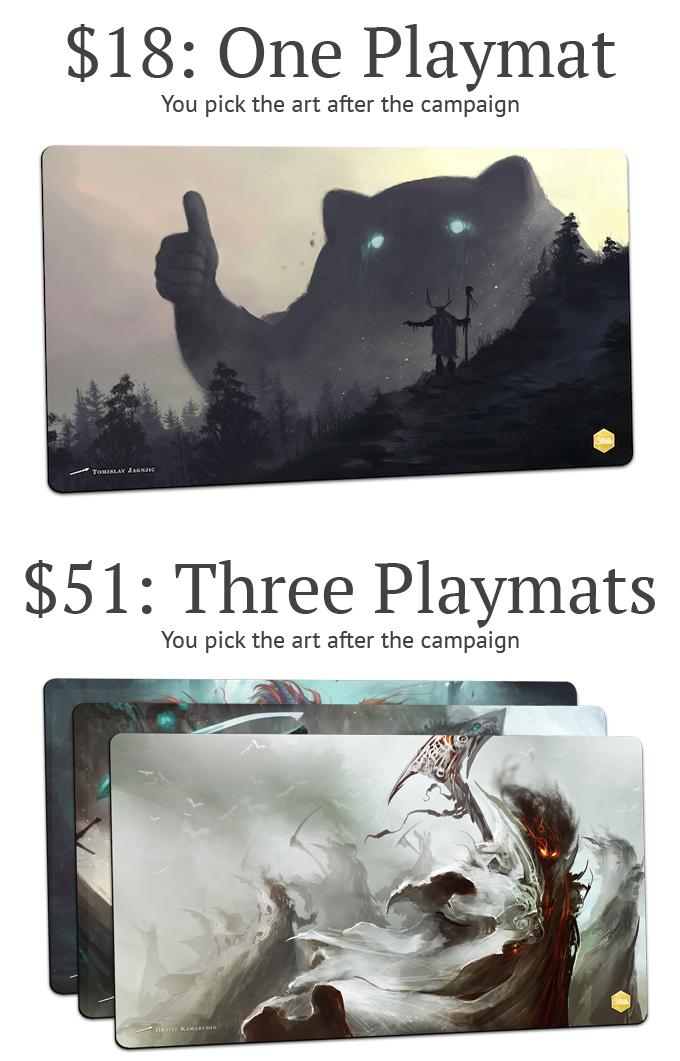 MTG Playmat Rewards