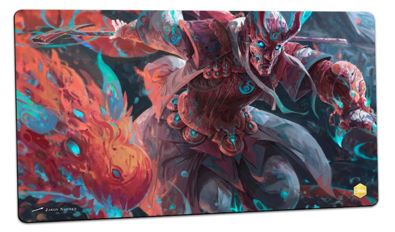 Jason Nguyen MTG Playmat