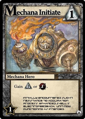Ascension Mechana Initiate Card