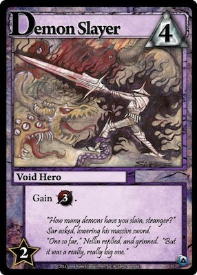 Ascension Demon Slayer Card