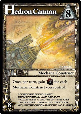 Ascension Hedron Canon Card