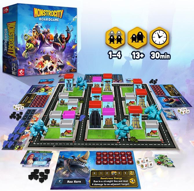 MonstroCity: Rampage Board Game