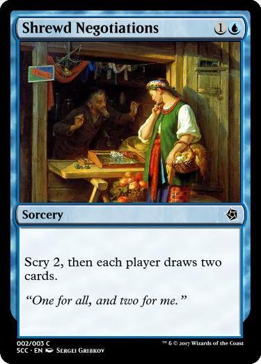 Shrewd Negotiations