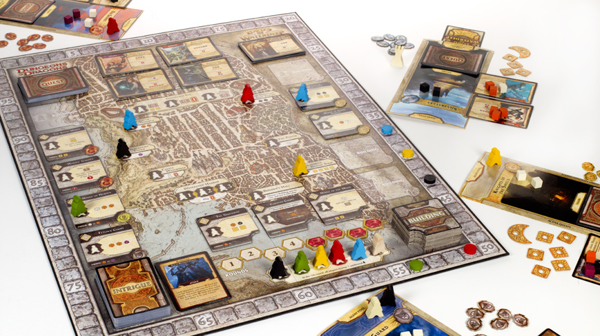 Lords of Waterdeep Worker Placement Board Game