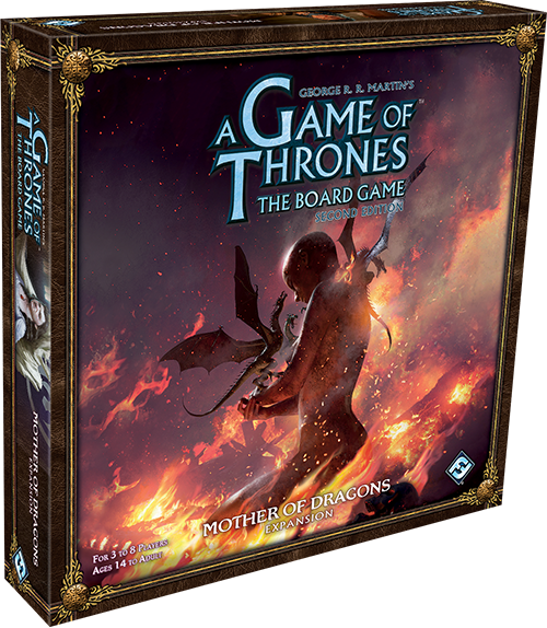 A Game of Thrones: The Board Game Second Edition Mother of Dragons Expansion