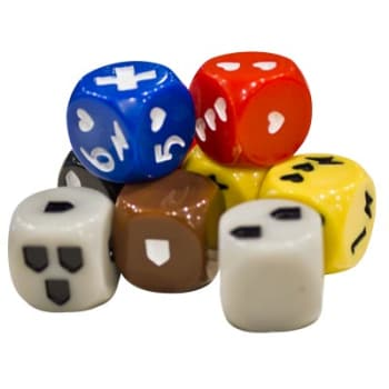 Descent Second Edition: Dice Pack