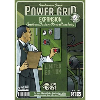 Power Grid: Quebec/Baden-Wurttemberg Expansion