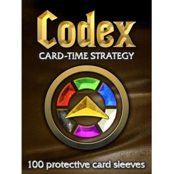 Codex: Card-Time Strategy - Card Sleeves 100-Count