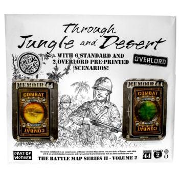 Memoir 44: Through Jungle and Desert Battle Map