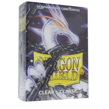 Dragon Shield Sleeves: Japanese Classic Clear (60)