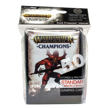 Warhammer: Age of Sigmar - Champions Chaos Sleeves (50ct)