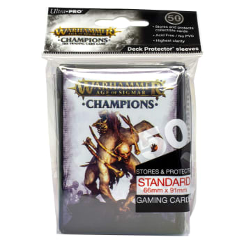 Warhammer: Age of Sigmar - Champions Death Sleeves (50ct)