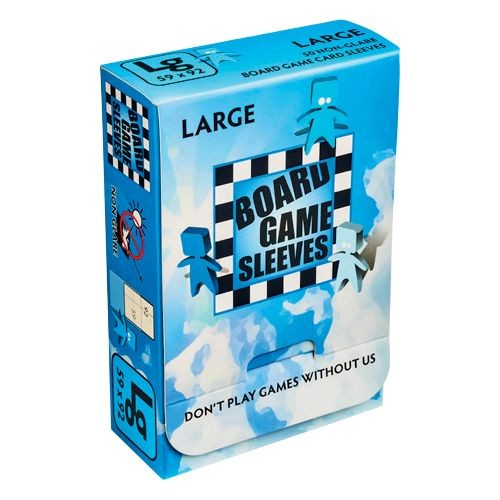 Board Game Non-Glare Sleeves: Large
