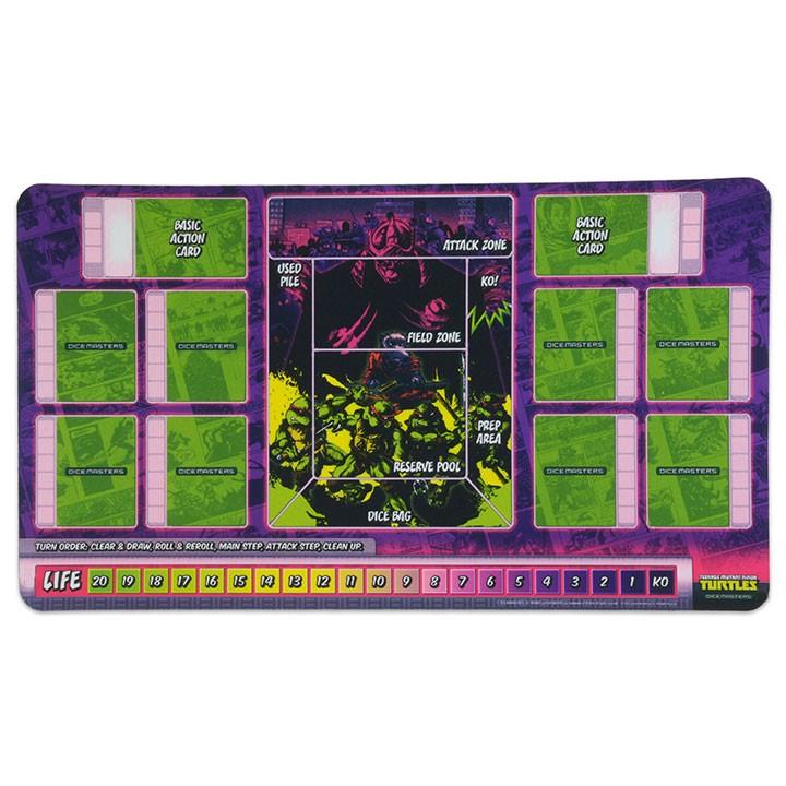 TMNT Dice Masters: Playmat