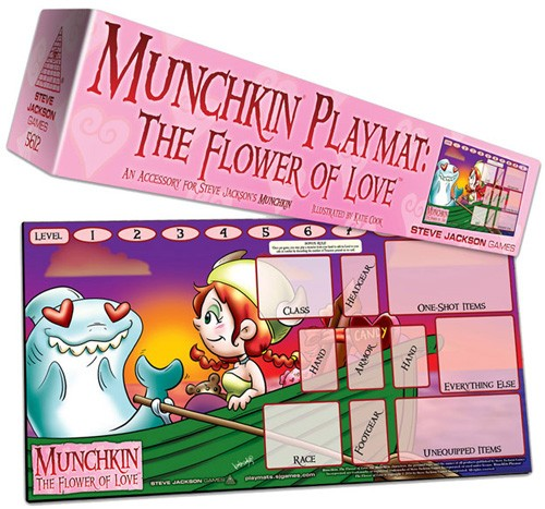 Munchkin Playmat: The Flower of Love