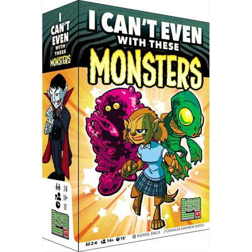 I Can't Even with These Monsters Overview