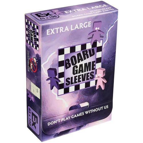 Board Game Non-Glare Sleeves: Extra Large