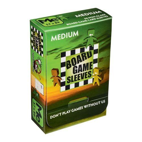 Board Game Non-Glare Sleeves: Medium