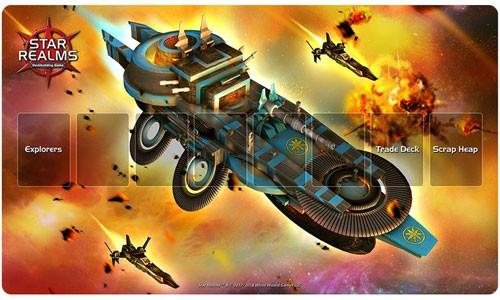 Star Realms: Light Cruiser Playmat