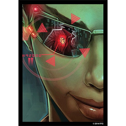 Fantasy Flight Card Sleeves: Android Netrunner - Posted Bounty (50)