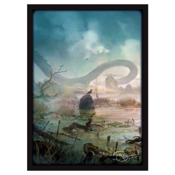 Matte Sleeves: Lands - Swamps (50)
