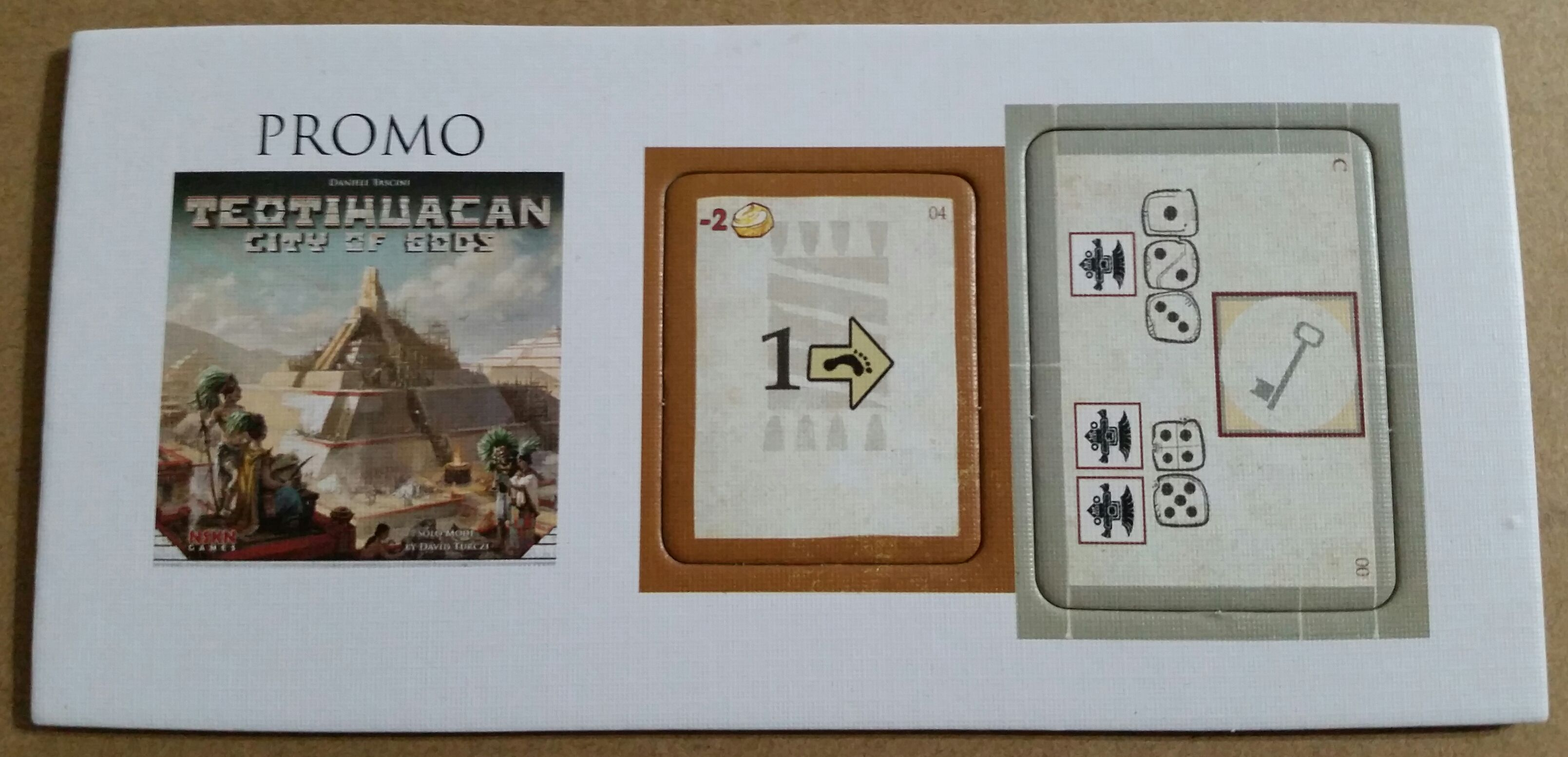 Teotihuacan: City of Gods – Dice Settlers Promo
