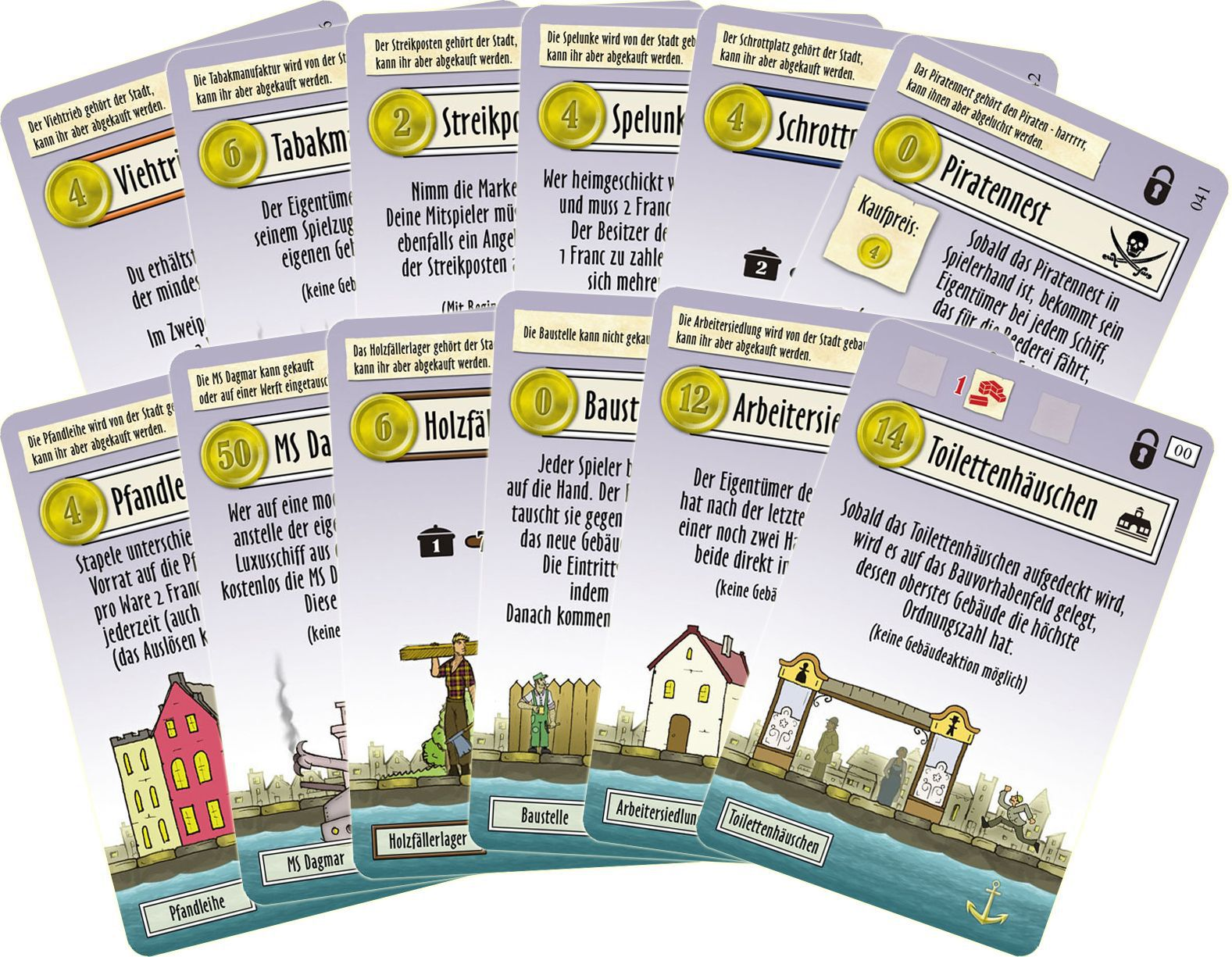 Le Havre Expansion: Essen Promo Cards